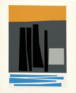 Harold Krisel Horizion, 1960 Silkscreen