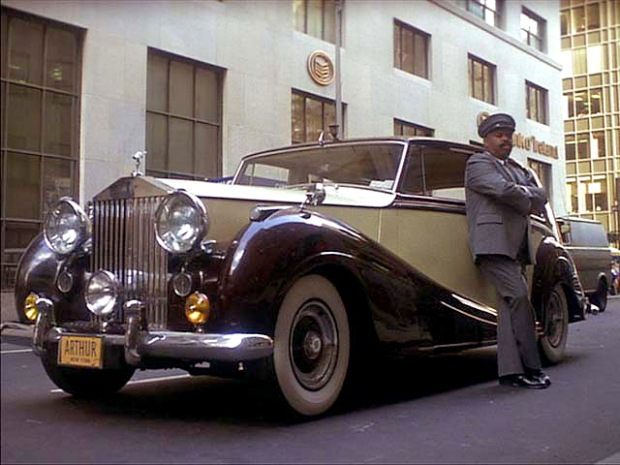 1956 Rolls-Royce Silver Wraith [LELW92] in Arthur, Movie, 1981