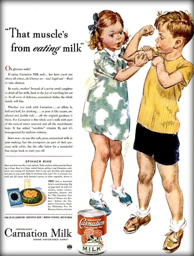 Vintage Carnation Milk Ad