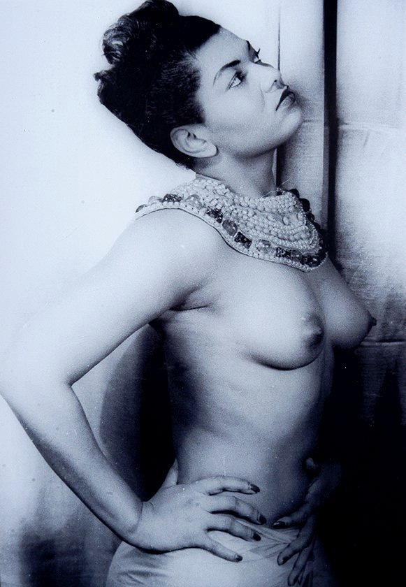 Bare breasts: At auction: Pearl Bailey photo and autograph