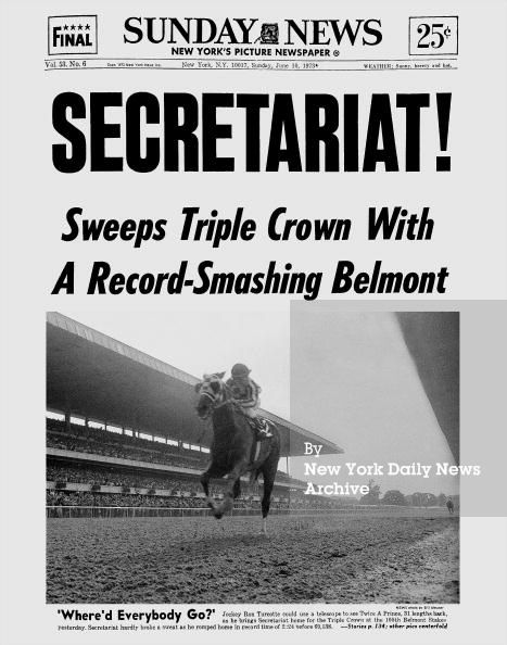 Secretariat, New York Daily News