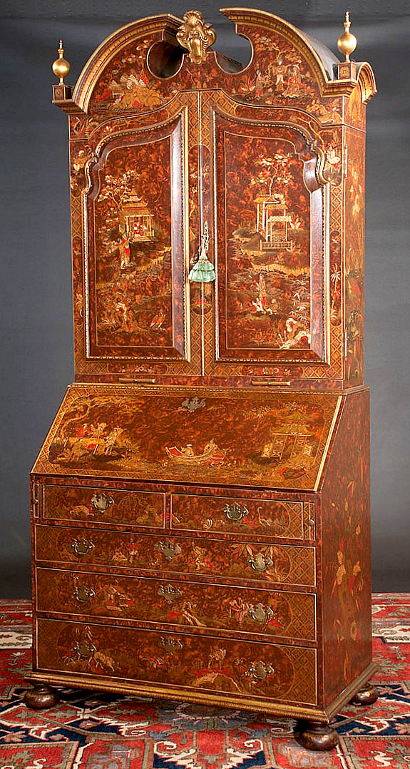 bonnet top chinoiserie