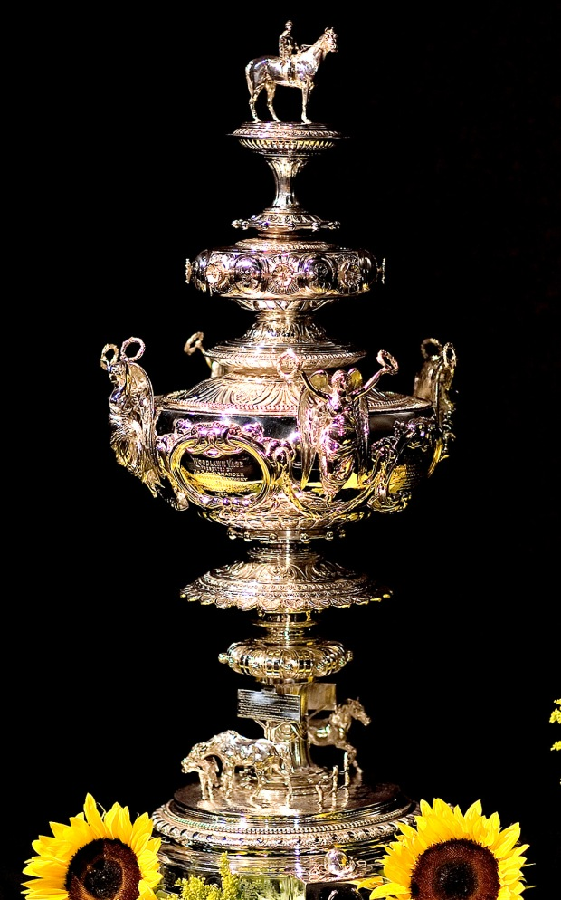 Preakness trophy, the Woodlawn Vase