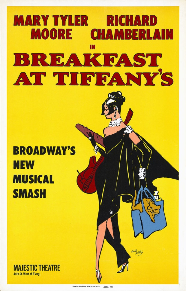 Breakfast at Tiffany's, the musical's broadway poster