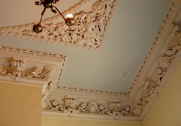 Plaster work, Clifton Mansion