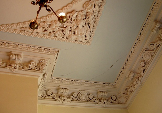 Plaster work, Clifton Mansion