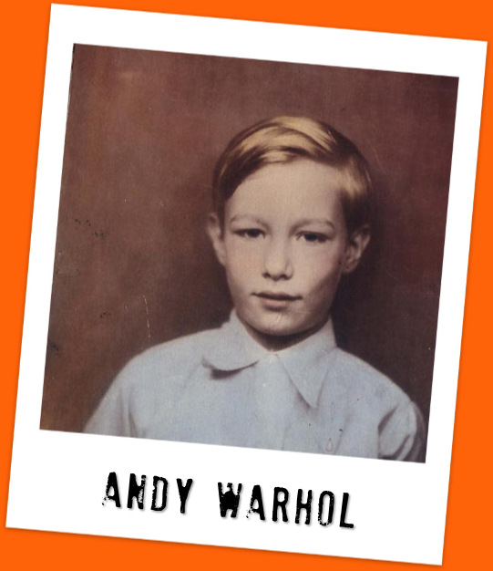 Andy Warhol, the child