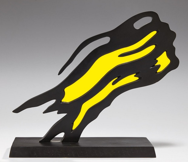 ROY LICHTENSTEIN Weisman Award (Yellow Brushstroke), 1991