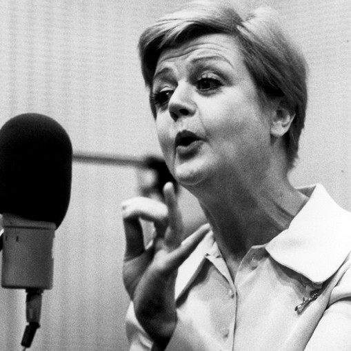 Angela Lansbury, recording Gypsy, 1973