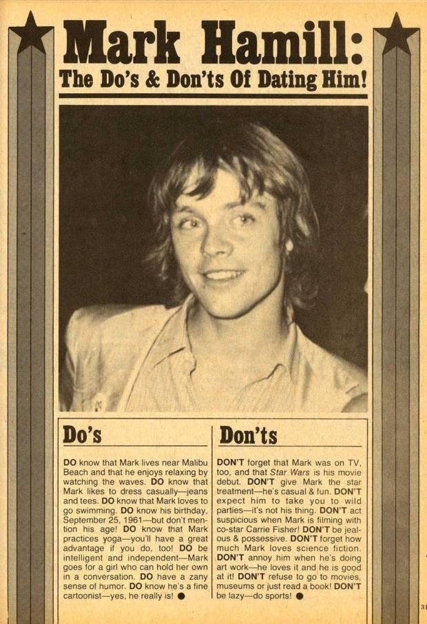 Mark Hamill, 1970s