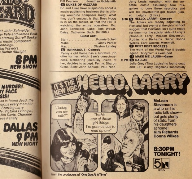 Hello, Larry – TV Guide Ad