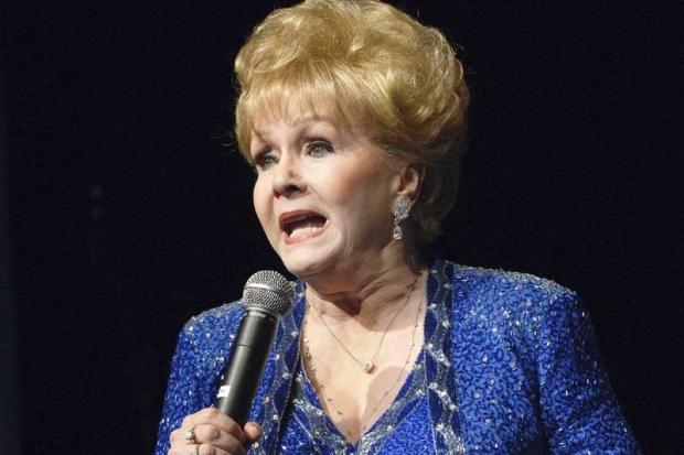 Debbie Reynolds, live