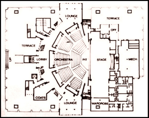 Morris A. Mechanic, floorplan