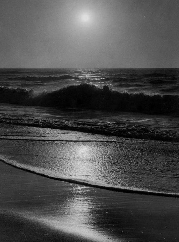 Detail: A. Aubrey Bodine, Ocean City Sunrise