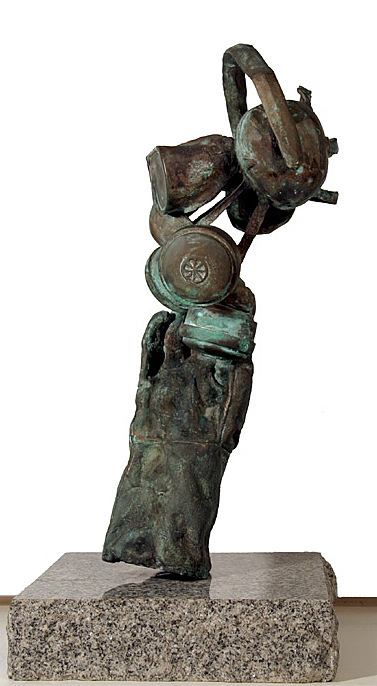 MARK EASTRIDGE, Gas Mask, side view