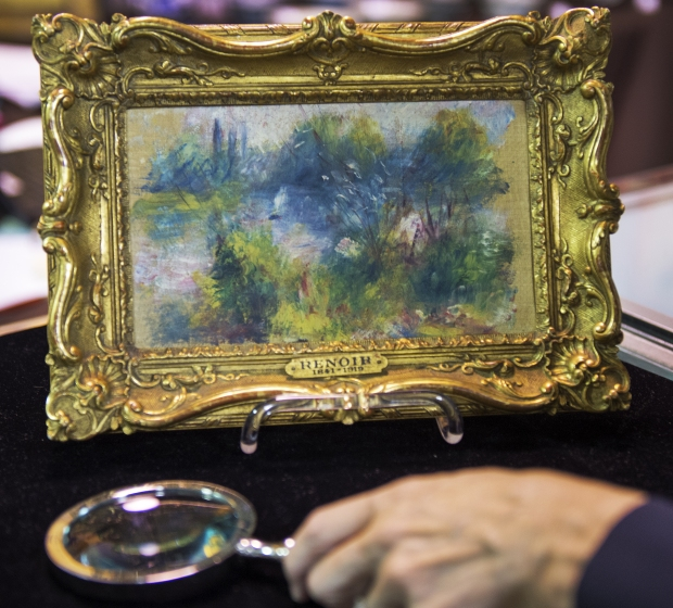 BMA, recovered Renoir; photo courtesy Fireman's Fund Insurance