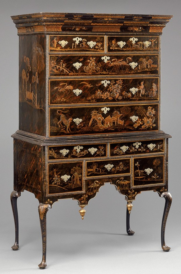 Japanned Chest of Drawers