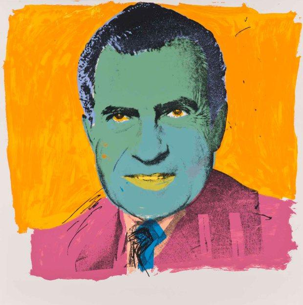 Warhol,Nixon