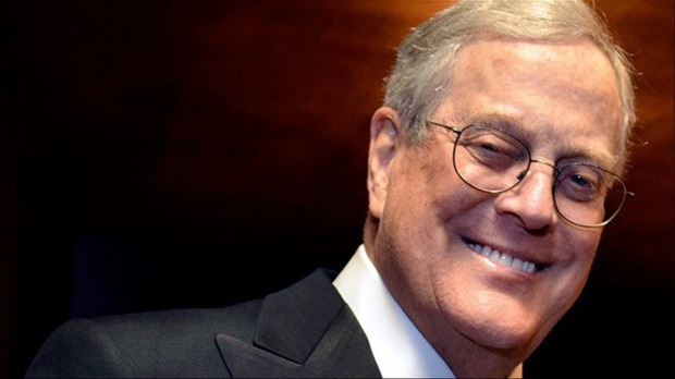 David Koch photo courtesy, Forbes