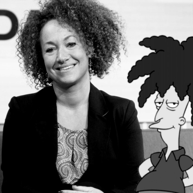 Rachel Dolezal channels a celebrity