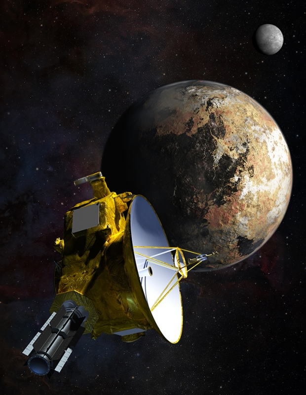 NASA, New Horizons, Headed to Pluto