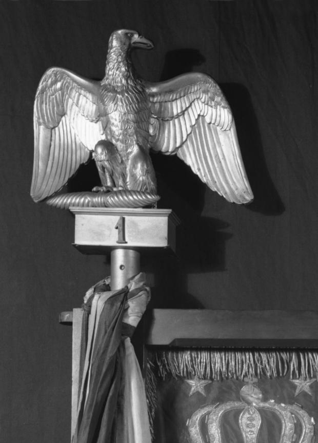 13) Napoleonic Eagle Finial