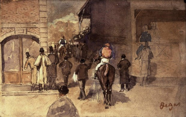 7. Degas, LA SORTIE DU PELAGE