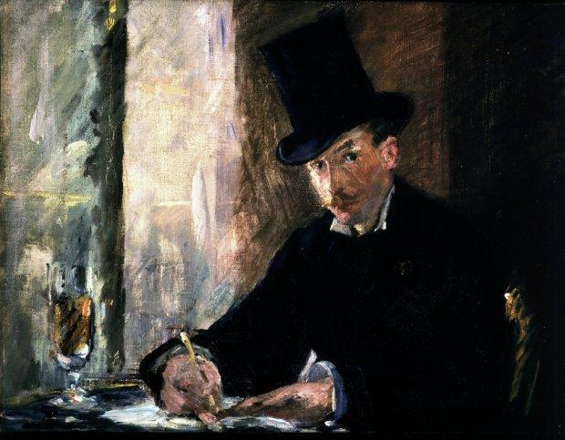12. Édouard Manet, CHEZ TORTONI