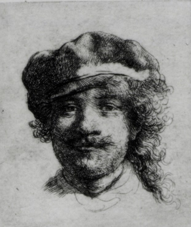 4. Rembrandt, PORTRAIT OF THE ARTIST AS A YOUNG MAN