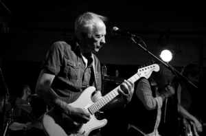 Whiter Shade of Pale, photograph of Robin Trower playing guitar