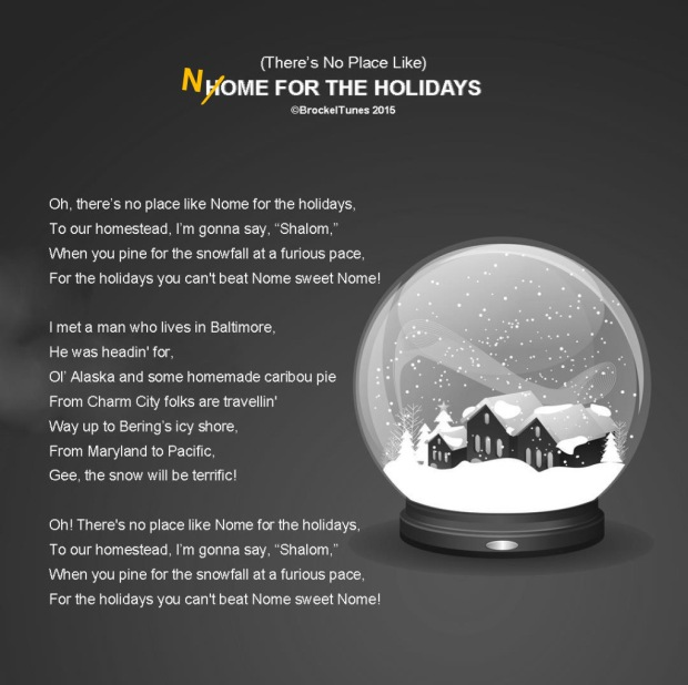 New lyrics to Home for the Holidays