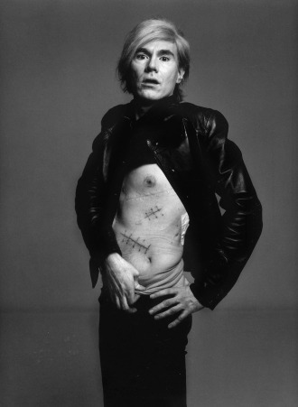 Avedon photo of Warhol, 1968