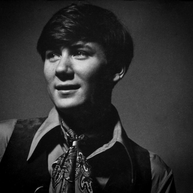 Black and white photo of Stephen Brockelman taken in New York City in 1970