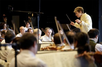 Marin Alsop, director of graduate conducting at Peabody Institute