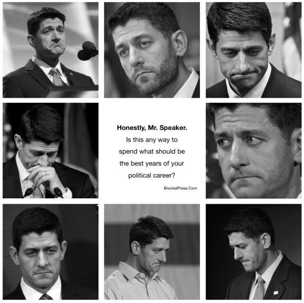Photo montage of Speaker Paul Ryan