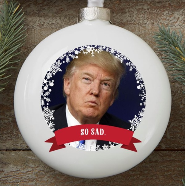 Donald Trump White House Christmas Ornament 1