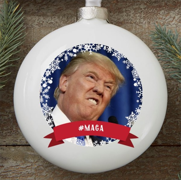 Donald Trump Christmas Ornament series