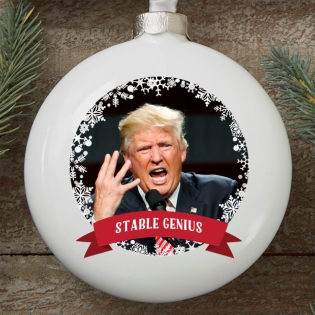 Donald Trump White House Christmas Ornament