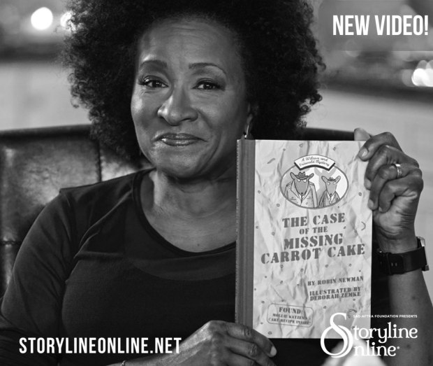 Wanda Sykes reads The Case of the Missing Carrot Cake for the SAG Foundation