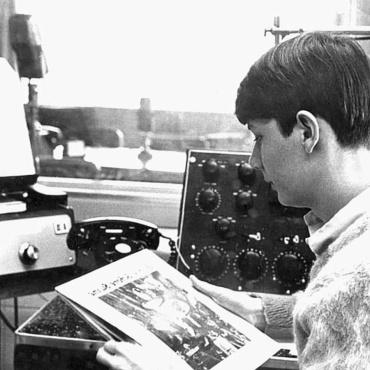 Stephen Brockelman KFH Radio 1967