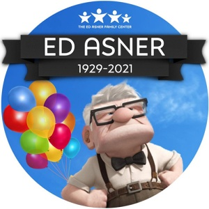 Logo with link to the Ed Asner Family Center.